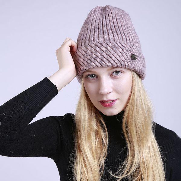 Black Winter Beanies Solid Color Hat Unisex Plain Warm Soft Beanie Skull Knit Cap Hats Knitted Gorro Caps for Men Women