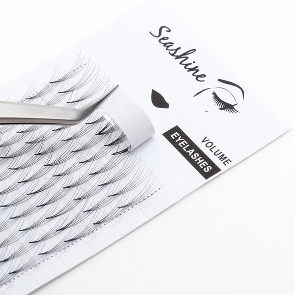Seashine 5D Blink Middle Premade Volume Eyelashes Extension 100% Handmade 0.07C Individual Lashes Makeup And Beauty Eyelash Free Shipping