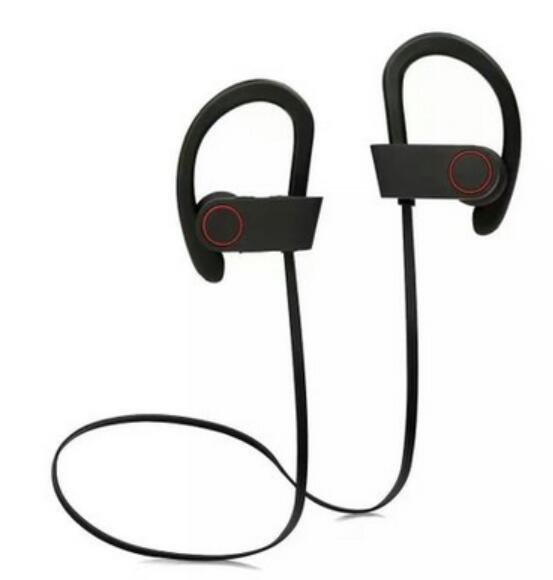10X U8 Bluetooth HeadPhones Earhook In-Ear Cancelación de ruido Estéreo inalámbrico Auriculares deportivos Auriculares con micrófono para teléfonos inteligentes Android de Iphone