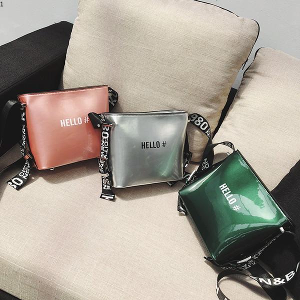 0f4674906 Novas Bolsas De Couro Moda Feminina Saco de Alta Qualidade Sacos de Ombro  Feminino Casual Bolsa