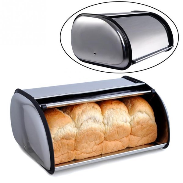 2019 Stainless Steel Bread Box Storage Bin Keeper Food Container Kitchen  New AJI 365 From Free_life01, $27.79 | DHgate.Com