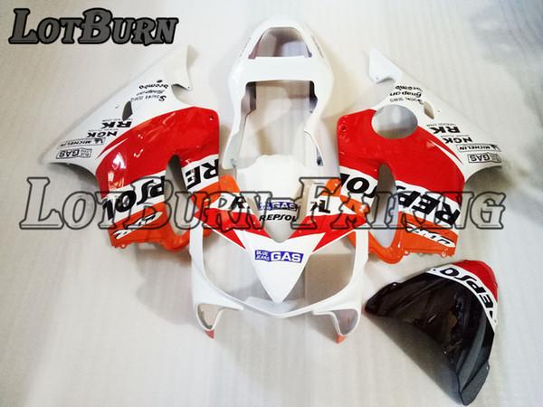 High Quality ABS Plastic Fit For Honda CBR600RR CBR600 CBR 600 RR F4i 2001 - 2003 01 - 03 Moto Custom Made Motorcycle Fairing Kit Bodywork