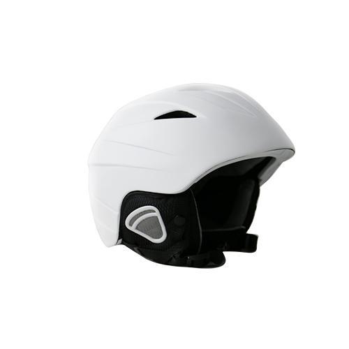 Cor de preto e branco de capacete de esqui de shell de alta qualidade para boa venda