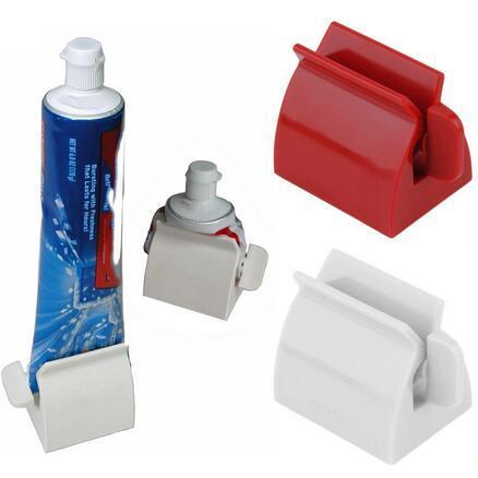 Tube à Rouler Dentifrice Squeezer Dentifrice Facile Distributeur Titulaire Siège Support Salle De Bains Accessoires Haute Qualité Outil 1 PC