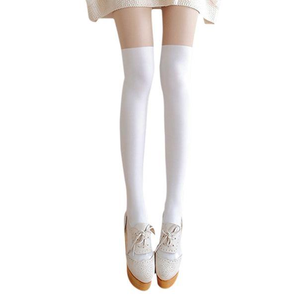 2017 Newest Autumn Lady Fake High Tube Stitching Wholesale Velvet Pantyhose False Thigh Anti-Hook Wire Bottom Pantyhose