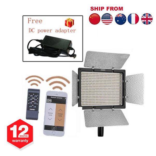 YONGNUO YN600L II 5500K YN600 II 600 Pro LED Vidéo Studio Lumière Pour Caméscopes Caméras + Télécommande
