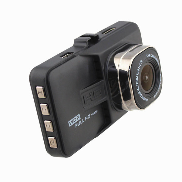 1080P car DVR full HD vehicle video camera dash cam recorder 3 inches 140°G-sensor parking monitor motion detection loop recording