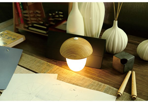 2018 New exotic mushroom gift table lamp corridor, leisure and entertainment, hotel lobby, corridor, exhibition hall, home place, hotel room
