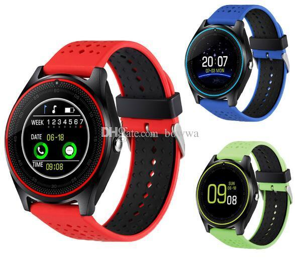V9 smartwatch android V8 DZ09 U8 samsung smart watches SIM Intelligent mobile phone watch can record the sleep state Smart watch