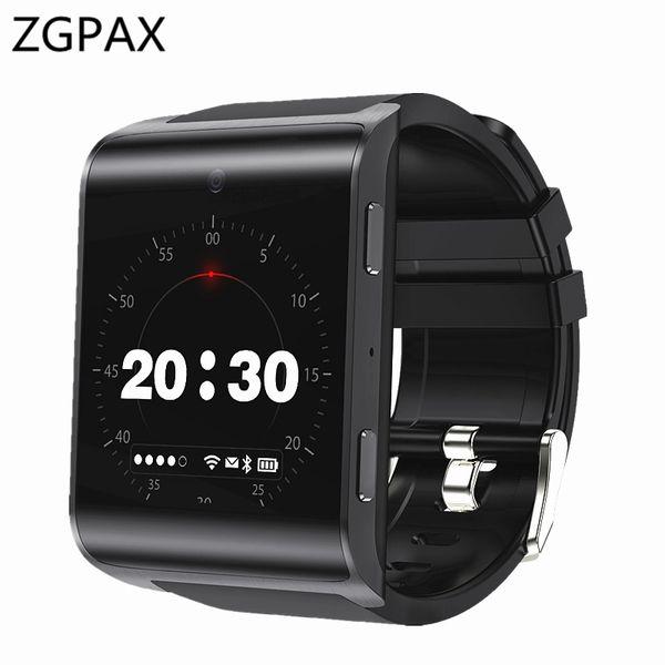 ZGPAX New 4G Smart Watch Phone ZX68 Pro Android 6.0 1G RAM 16G ROM Smartwatch Heart Rate Monitor GPS WiFi Multi-sport Men Watch