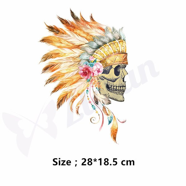 The Indians style patches for clothes DIY T-shirt Dresses Sweater thermal transfer Printed A-level Washable Sticker free shipping