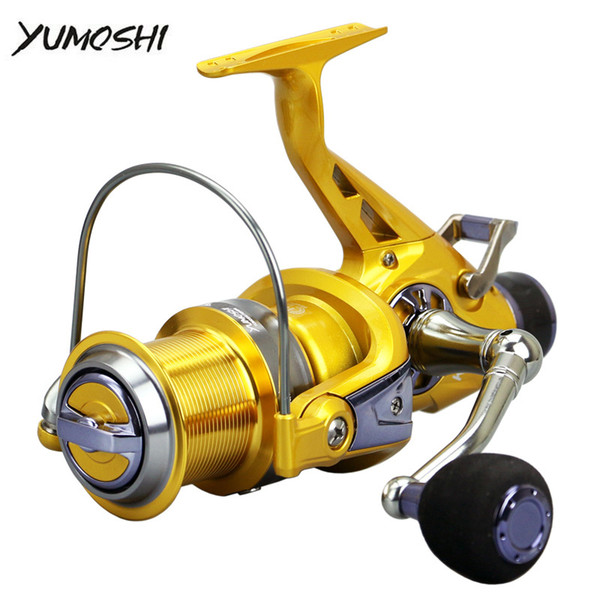 Yumoshi Spinning Fishing Reel Fishing Reel 5.2: 1 11BB Cuscinetto a sfere Reel Carp Fishing Wheel Sea Tackle Pesca