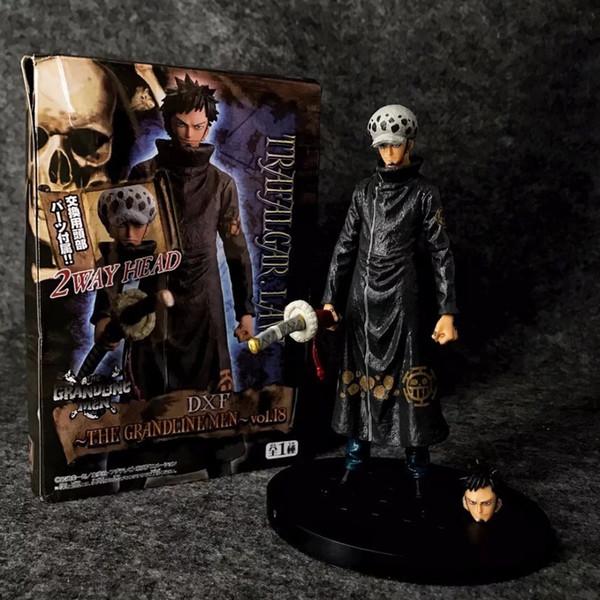 18cm One piece Trafalgar Law Anime Action Figure PVC New Collection figures toys Collection for friend gift