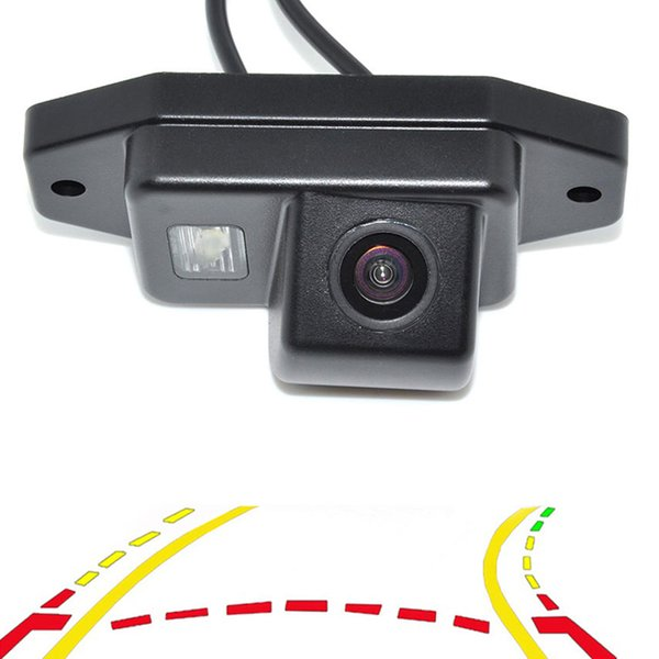 Intelligent Dynamic Trajectory Tracks Car Rear View Backup Camera For Toyota Prado Land Cruiser 120 Parking Assistance