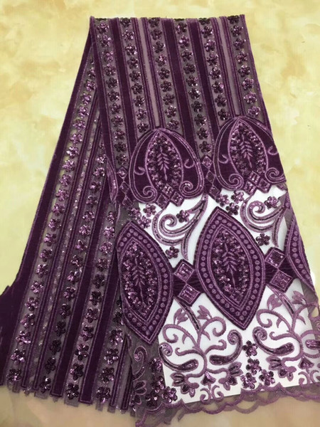 big bottom lace embroidered lace fabric sequine trim nigerian 2018 hot sale african french tulle lace fabric