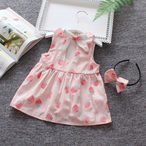 Neue Produkte beliebte Marke beste Schuhe Großhandel Sommermädchen Sommerkleid Mit 1 4 Jahren ...