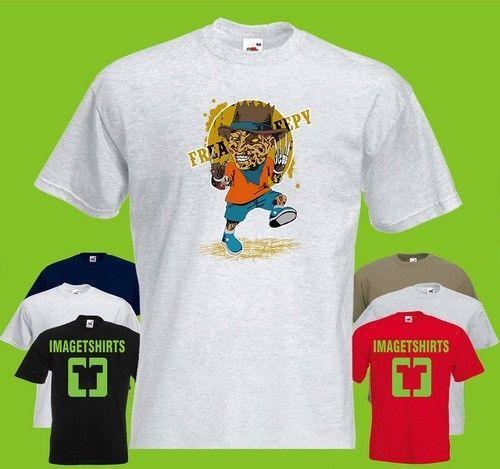 Freddie clown horror Art Cool Graphic T Shirt Tee Shirt Print