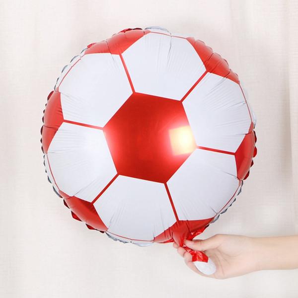 45 CM * 45 CM 18 zoll Runde Sport Ball Form Folienballon Fußball Basketball Volleyball Aufblasbare Luft Ballons Kinder Geburtstagsfeier Geschenke Decor