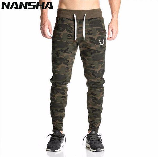 2018 Automne Nouveaux Gymnases Pour Hommes Joggers Pantalon Fitness Casual Marque De Mode Camo Pantalons De Survêtement Bas Pantalon Hommes Casual Long