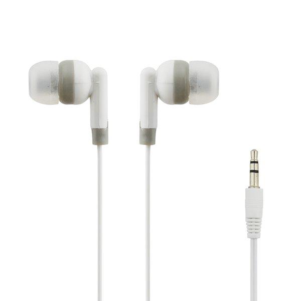200 adet Kulak 3.5mm Kablolu Kulaklık Kulaklık In-line Android Telefon için Mic Olmadan Kontrol bilgisayar Smartphone