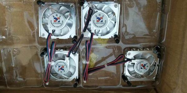 best selling 100%NEW ARX CE1245-A1033ABBL  CE1245-A1033AB4 three line CPU display card chip radiator fan 4.5CM fan