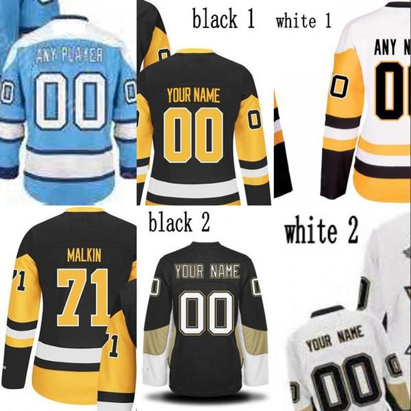 Lady 2017 Stanley Cup Campeões Premier Jersey 17 Bryan Ferrugem 30 Matt Murray 43 Conor Escuro 81 Phil Kessel 87 Sidney Crosby Jerseys