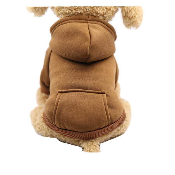 Small Breed Dog Clothes Fleece Clothing New Winter Golden Retriever Puppy Clothes Teddy Chihuahua Dress Wholesale on Sales