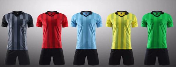 2018 novo Benwon-Fair Play profissional de futebol árbitro jerseys roupas esportivas conjuntos de fato de futebol árbitro kits de futbol juiz t camisas