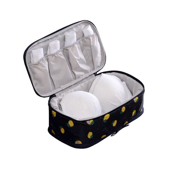 Portable Business Necessary Bra Organizer 2018 Lady Travel Polyester Underwear Socks Pouches Multicolors Wet Proof Travel Totes
