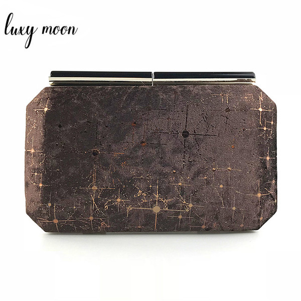 New 2018 evening bags fashion bling day clutch gold black pink evening clutch bag purse and handbags full dress party bag ZD947 Y18110101