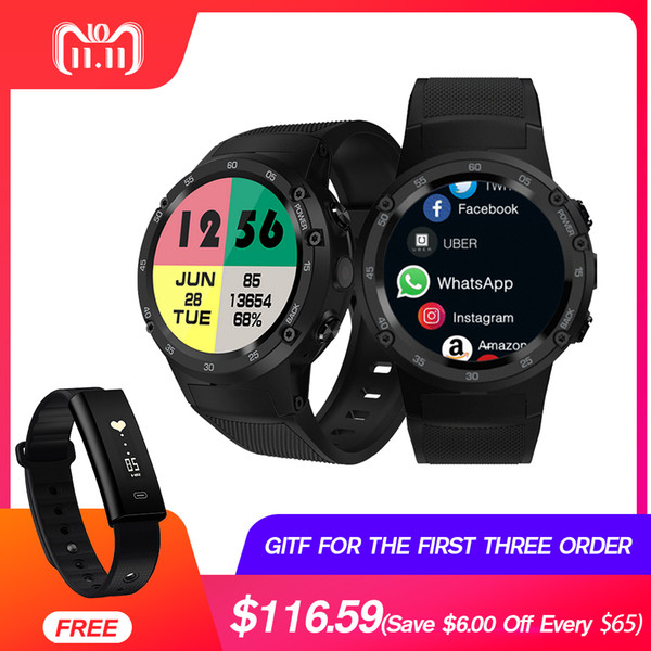 Zeblaze Thor 4 4G S LTE GPS WiFi Android Smart Watch Flapship 1GB+16GB 5MP Camera Fitness Tracker Smartwatch Wristwatch
