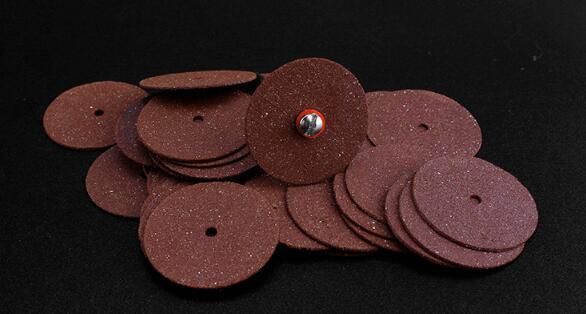 best selling 105pcs lot 25mm Mini High Speed Resin Cutting Plate Grinding Wheel Cutting Blade Metal Sheet Iron Cutting Electric Grinding Accessories