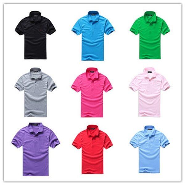 New Brand Men's Big Horse Embroidery Polo Shirt For Men luxury Polo Men Cotton Short Sleeve shirt jerseys bodybuilding fitness men Plus Size