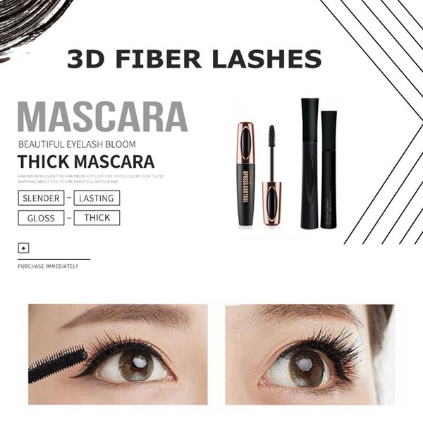 best selling Hot New 1030 3D FIBER LASHES Plus MASCARA Set Makeup lash eyelash double mascara Free shipping