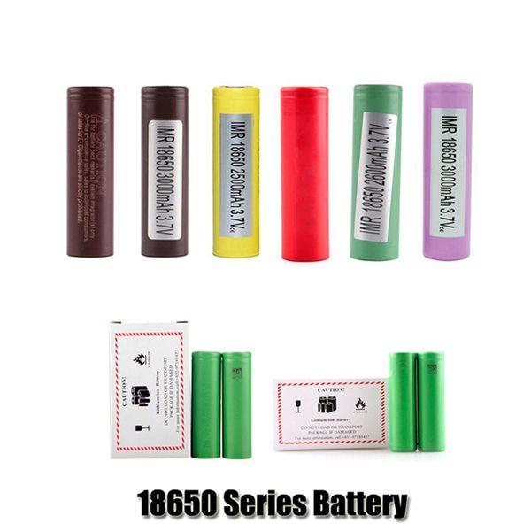 100% высокое качество HG2 30Q VTC6 3000mAh INR18650 25R HE2 HE4 2500mAh VTC5 18650 аккумуляторная литиевая батарея для Sony Samsung LG Mod