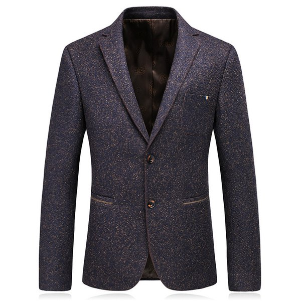 High Cost Performance Leisure Time Man's Suit Jacket Man Woolen Loose Coat