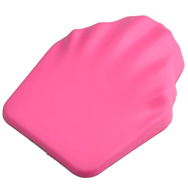 Hot Soft Silicone Hand Rests Cushion Nail Art Tools Pink Pro Hand Holder Base Nail Polish Palm Cushions Manicure Arm Pad Tool