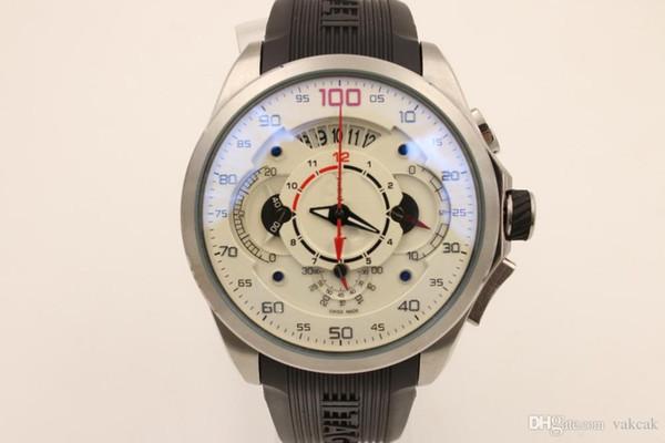 bon quartz quartz argent affaire vendre bien chronographe marque hommes montres en acier inoxydable montre-bracelet uxury montres pour hommes