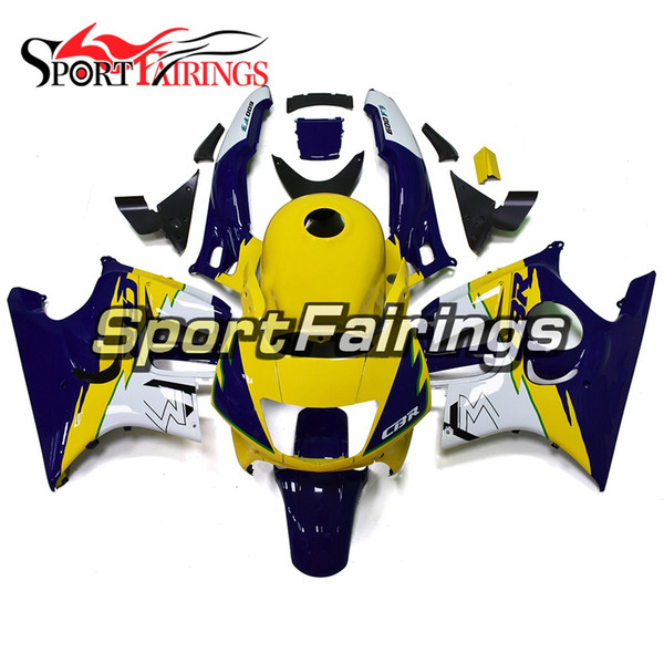 New Arrival 1995-1996 F3 Motorcycles Injection Blue Yellow ABS Fairing Kit For Honda CBR600 F3 96 1995 1996 ABS Body Kit Bodywork Gifts