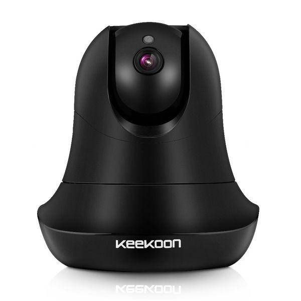 KEEKOON 1080P IP Camera Wireless Wifi Baby Monitor Plug/Play Pan/Tilt 2-Way Audio Night Vision Home Surveillance Security Alarm System