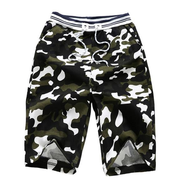 più recente d444f 663d9 Acquista Pantaloncini Mimetici Mimetici Da Uomo 2018 Nuovi Pantaloncini  Casual Da Uomo Pantaloni Corti Da Uomo Slim Da Lavoro Plus Size 3XL A  $33.51 ...