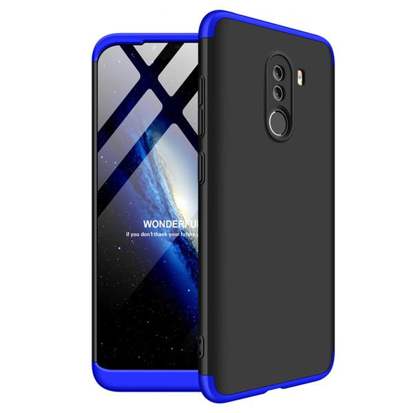 Тонкий 3in1 гибридный жесткий чехол для Xiaomi Pocophone F1 Poco F1 Max 3 MiA2 6X 8 8 SE Mix 2S 2 5X