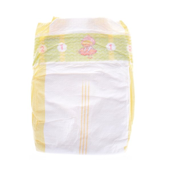 1Pc Disposable Soft Tiny Cute Newborn Diapers White Thin section Diapers Wear fit Baby Born zapf 43cm Children Doll Accessories