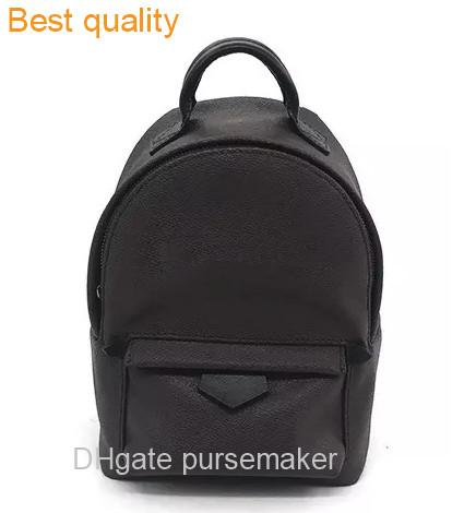 best selling TOP quality Fashion girl Palm Springs Backpack Mini genuine leather children school bag lady backpack women purse #41562 #40019