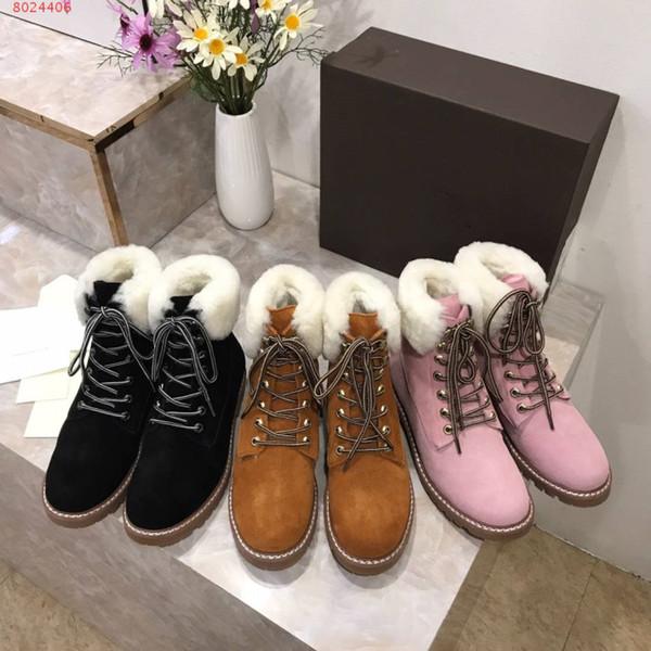 305115d88 Nueva moda femenina botas cortas de alta calidad para mujer botas de nieve  ropa de invierno