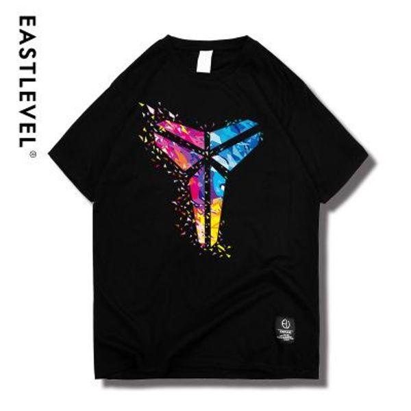 Coloré Kobe Bryant Black Mamba modèles commémoratifs graphique t-shirts Pull Casual qualité supérieure Top Design manches courtes hommes