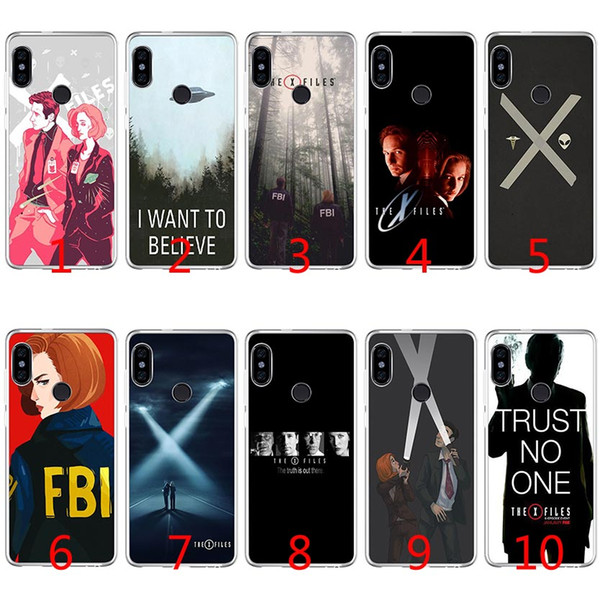 The X Files I want to believe Soft Silicone TPU Case for Xiaomi Redmi Note 4X 5 Pro 6 Pro 5A 4A S2 5 Plus Cover