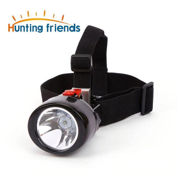 50 pz / lotto Wireless LED Mining Light KL3.0LM Impermeabile Mining Headlamp Esplosione Rroof Mining Cap Lampada Ricaricabile Fari