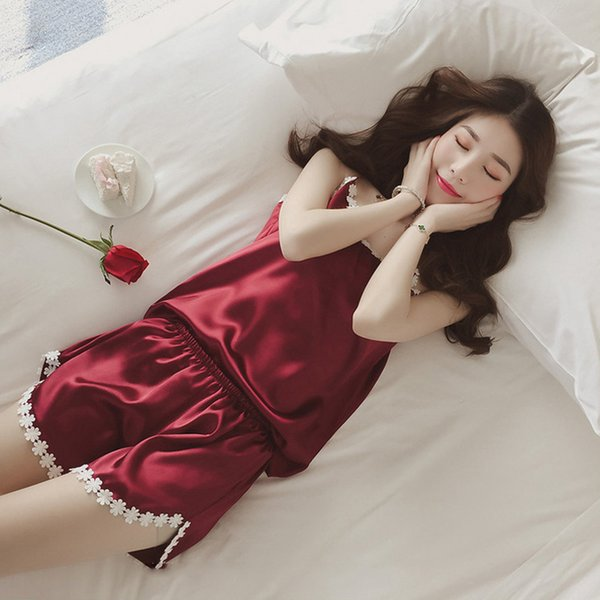 Womens Pajamas Lace Women Pajamas Set Clothing for Women Homewear Indoor  Clothing Lady lovely Cute for b283b2ee9