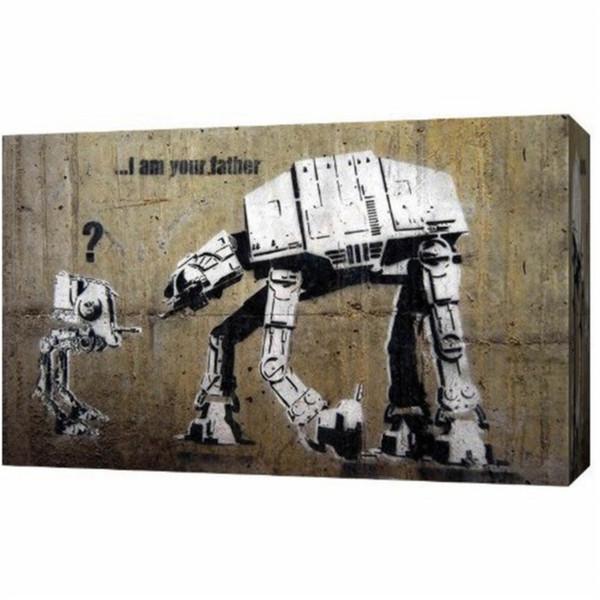 Satın Al Savaşları Banksy Graffiti Izleme Dua Ev Dekor Hd Baskılı Modern Sanat Boyama Tuval çerçevesiz çerçeveli 598 Dhgatecomda